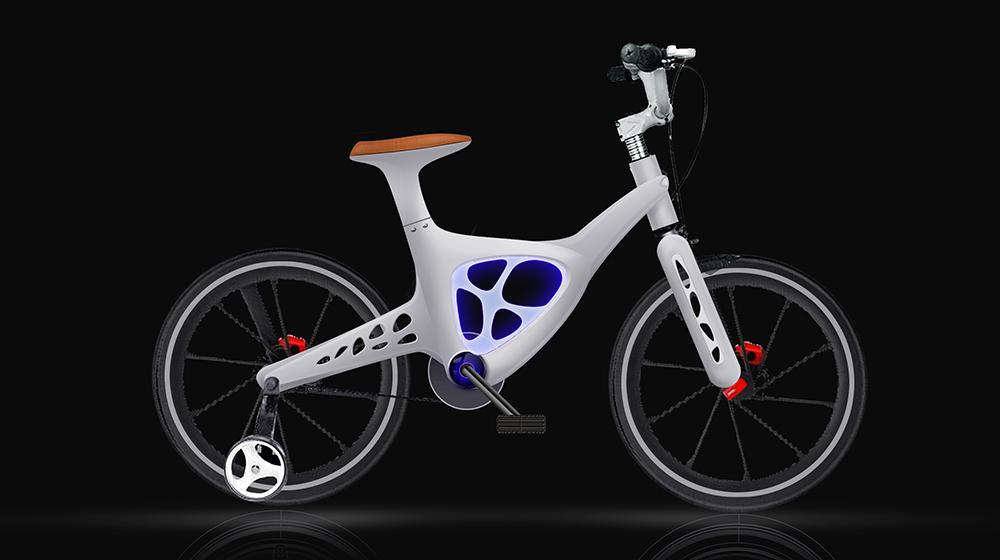 儿童镁合金自行车-【上品设计官网】-专注产品外观,的